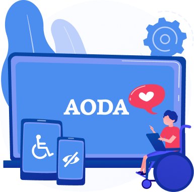 AODA Compliance for Websites: <br>The Definitive Guide
