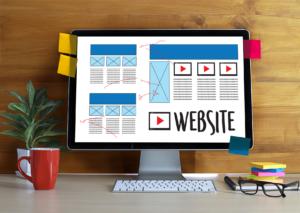 Website undergoing design revisions