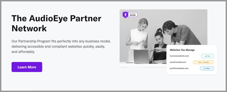 AudioEye Partnership Program