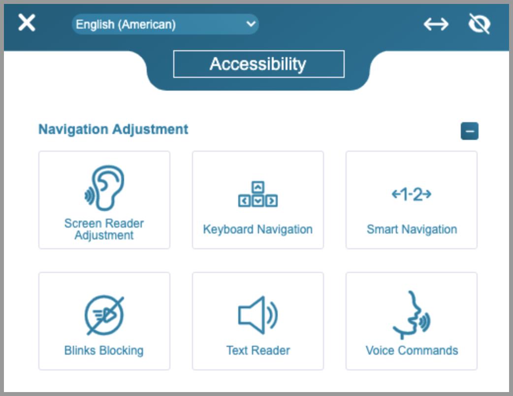 equalweb Navigation Adjustments